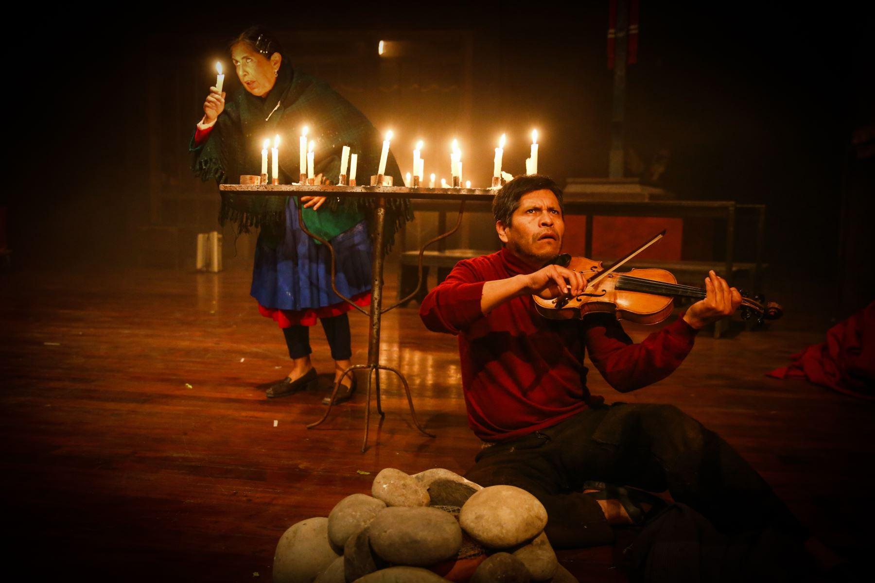 La obra fue escrita por Peter Elmore y se estrenó a fines de los noventas. Foto: ANDINA/Vidal Tarqui