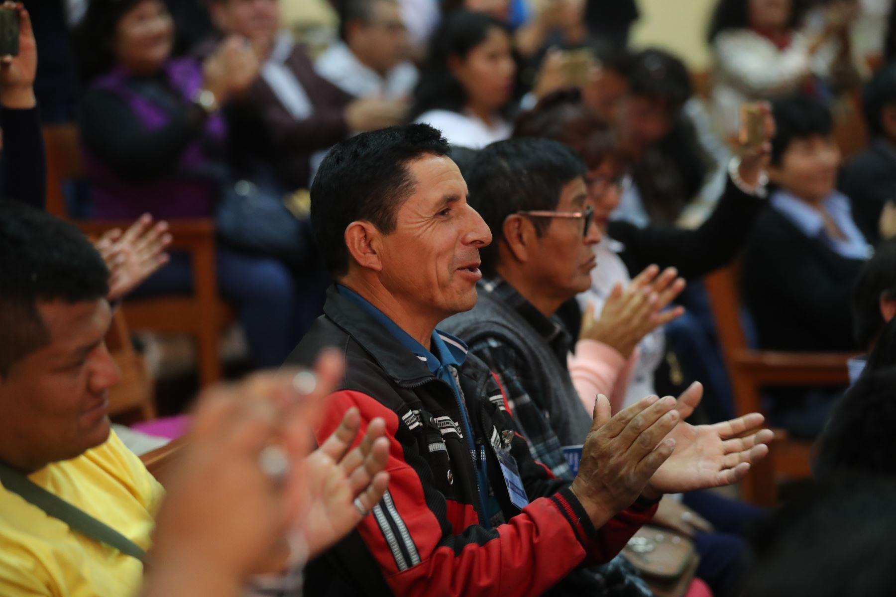 El presidente de la República, Martín Vizcarra, inaugura el I Congreso Internacional de Pesca Artesanal en Ilo, Moquegua. Foto: ANDINA/Prensa Presidencia