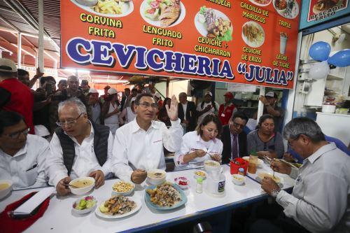 El Presidente de la República, Martín Vizcarra visita la región Moquegua para participar en diversas actividades