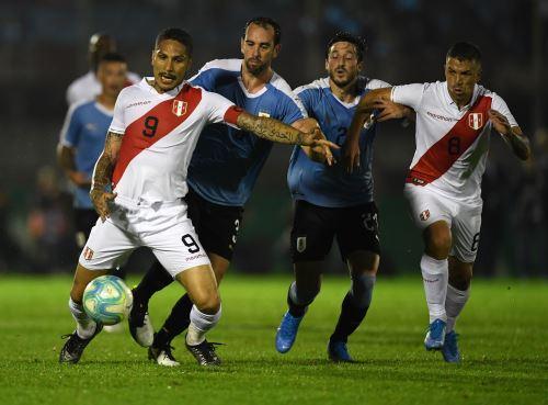 Perú cae 1 a 0 ante Uruguay en partido amistoso