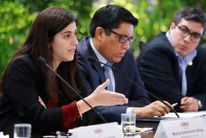 Ministra de Economía y Finanzas, María Antonieta Alva. Foto: Internet.