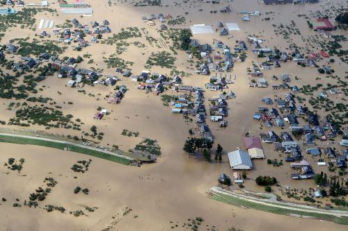 El tifón Hagibis deja más de 20 muertos e  inundaciones en Japón