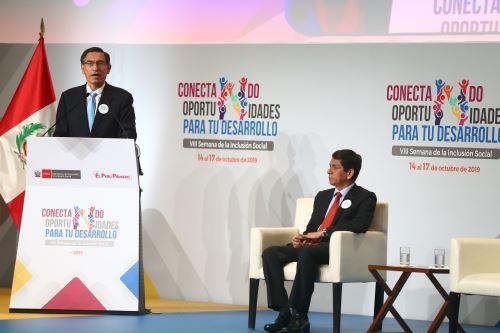 Presidente Vizcarra participa en Semana de la Inclusión Social