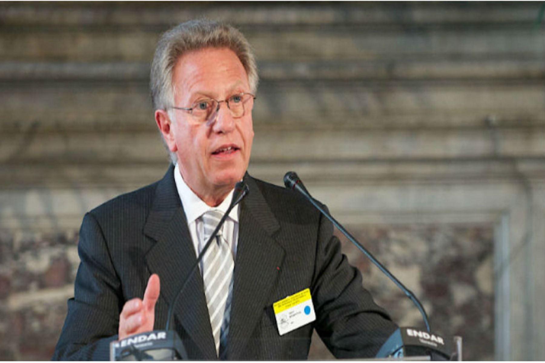 Presidente de la Comisión de Venecia, Gianni Buquicchio. Foto: Front News International