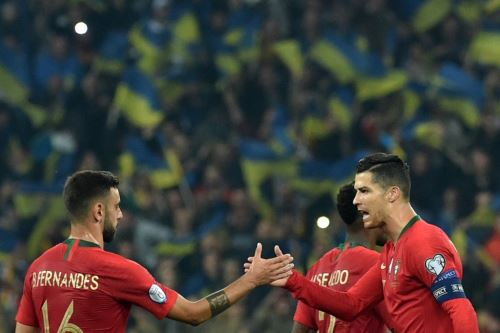 Cristiano Ronaldo anotó su gol 700 con la selección de Portugal, que deberá buscar su pase a la Eurocopa 2020