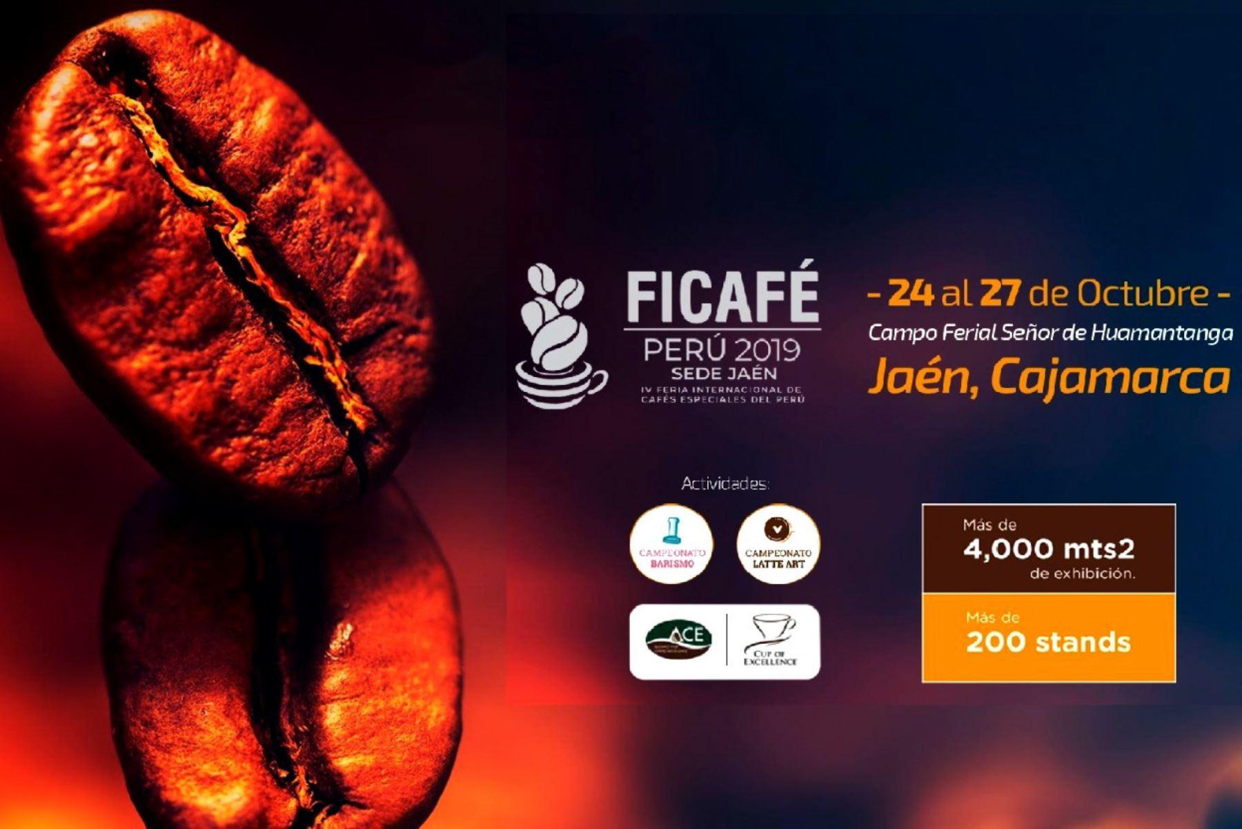 Del 24 al 27 de octubre se efectuará la IV Feria Internacional de Café en la provincia de Jaén, región Cajamarca.