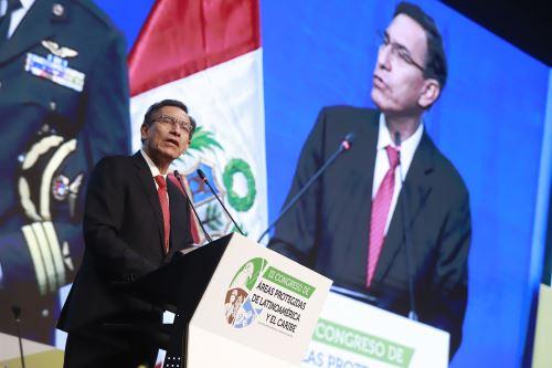 Presidente Vizcarra inaugura III Congreso de Áreas Protegidas de Latinoamérica y el Caribe