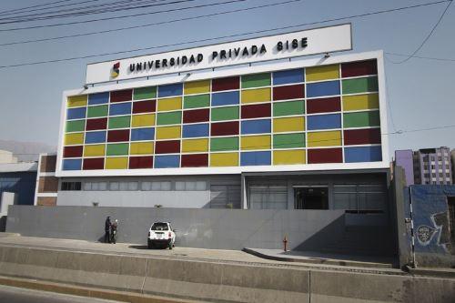 Sunedu deniega la licencia institucional a la Universidad Privada SISE Foto: Difusión