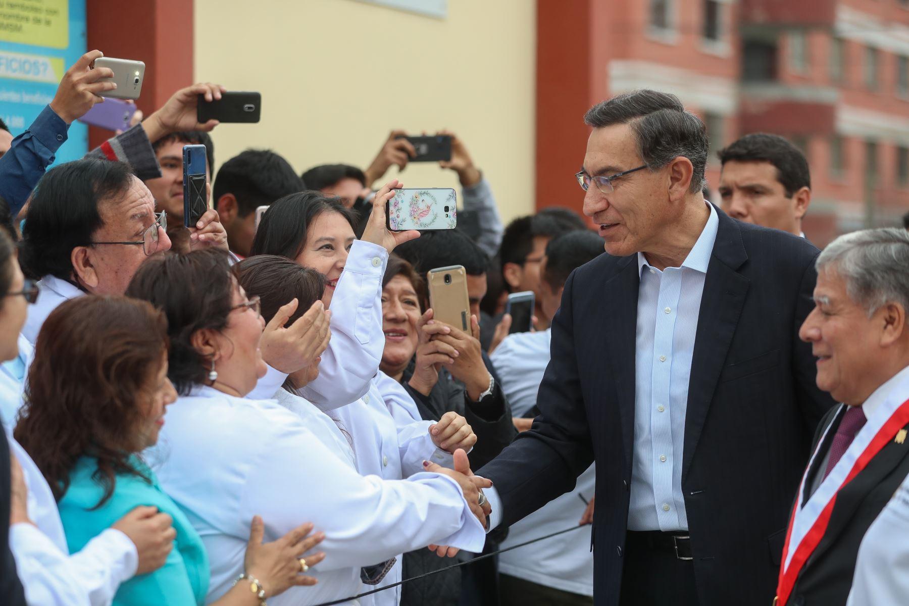 Presidente Vizcarra participa en inauguración de centro de salud mental universitario. Foto: ANDINA/Prensa Presidencia