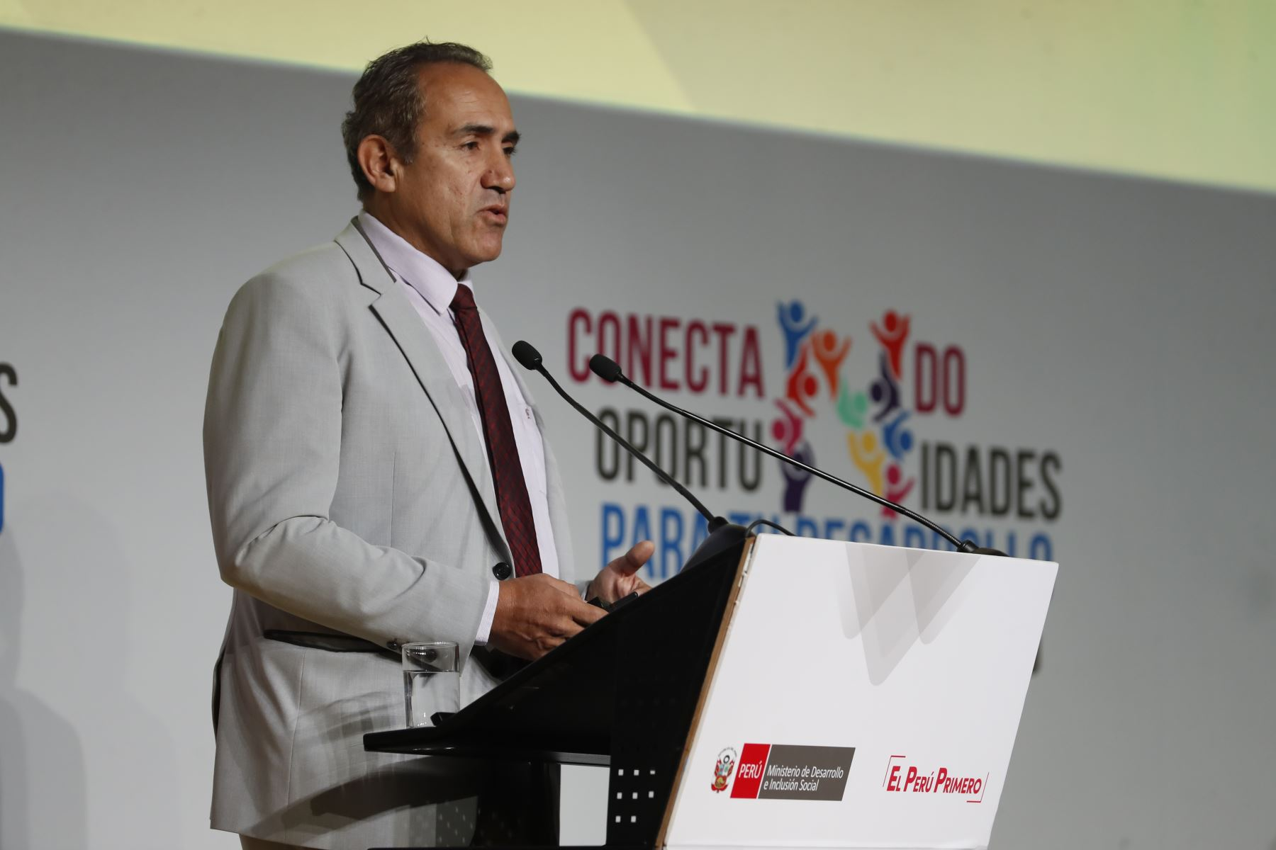 Carlos Estremadoyro, viceministro de Transportes. Foto: ANDINA/Renato Pajuelo
