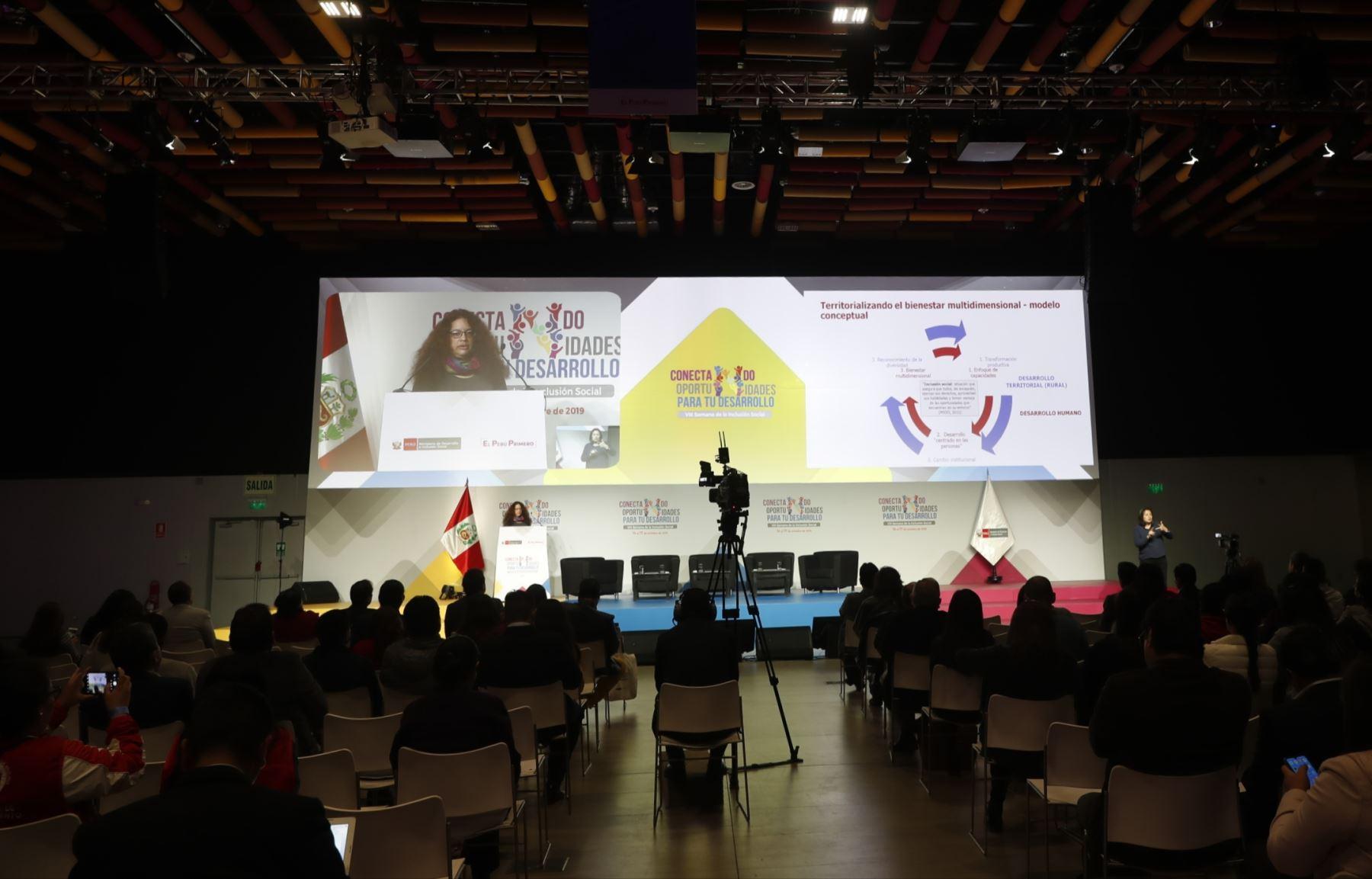 VIII Semana de la Inclusión Social. Foto: ANDINA/Renato Pajuelo