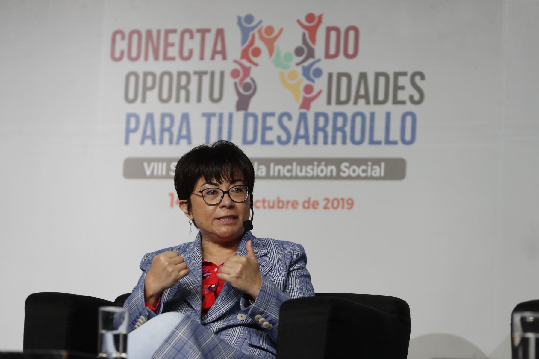 Rosa Virginia Nakagawa, viceministra de Comunicaciones del MTC. Foto: ANDINA/Renato Pajuelo