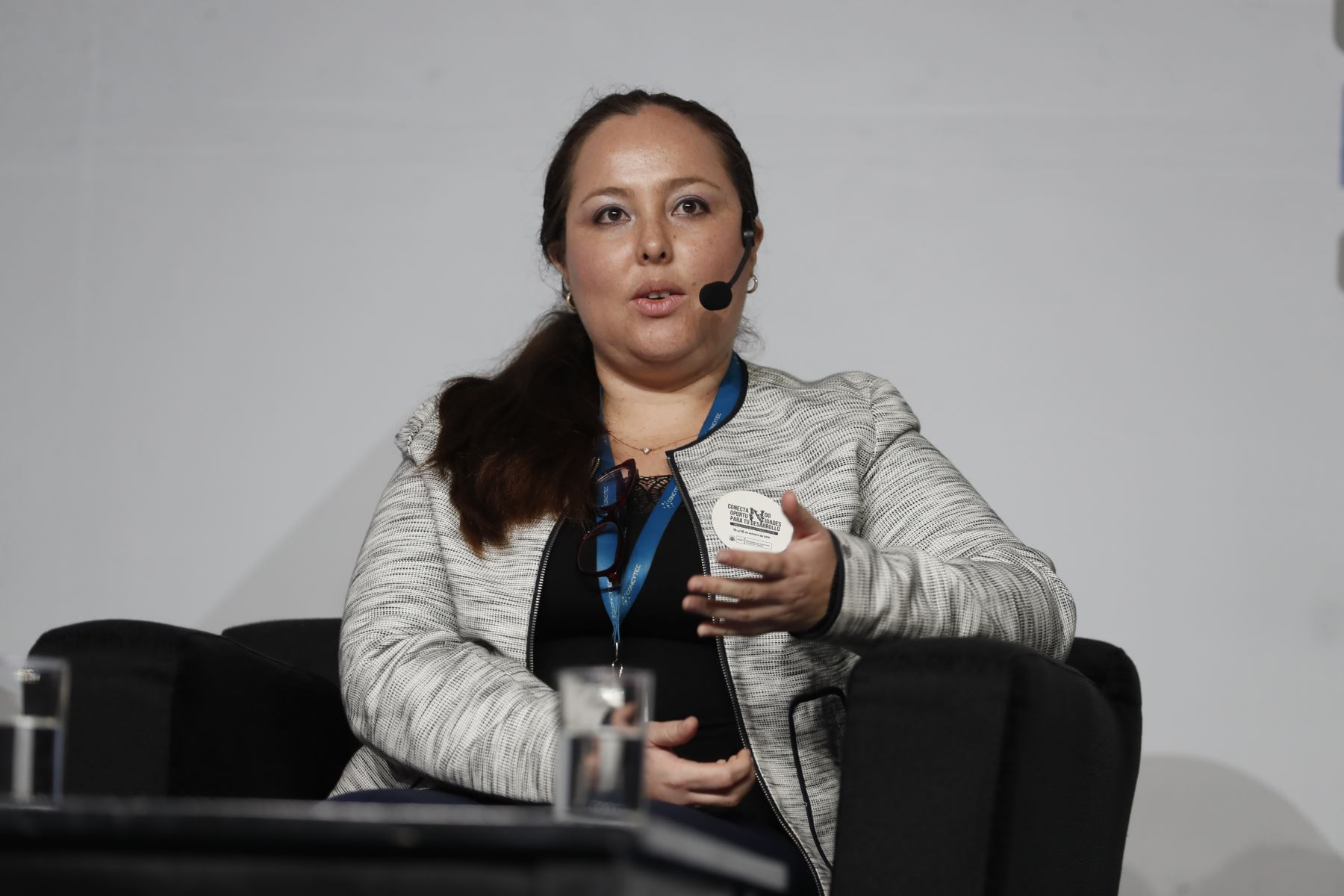 Fabiola León Velarde, presidenta del Concytec. Foto: ANDINA/Renato Pajuelo
