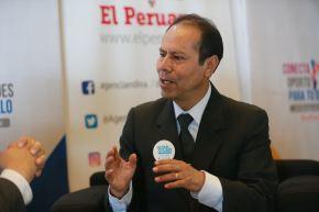 Director ejecutivo de Foncodes, Wilber Venegas. ANDINA/Jhony Laurente