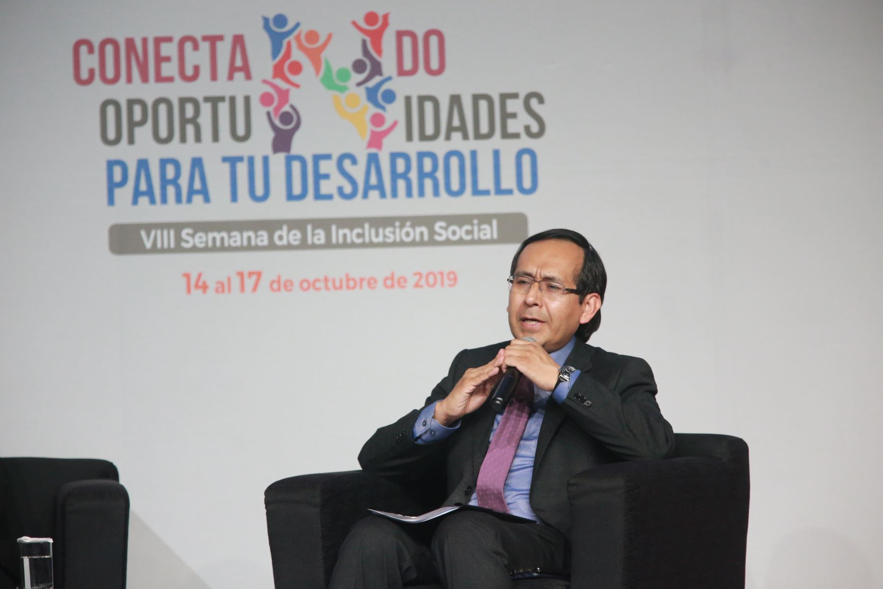 Fredy Hinojosa Angulo,Director Ejecutivo(e) del Programa Nacional PAIS.Foto:ANDINA/ Jhony Laurente