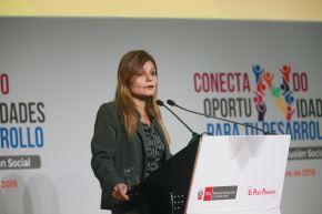 Directora general de Mercados Financiero y Previsional Privado del MEF, Liliana Casafranca.   ANDINA/Jhony Laurente
