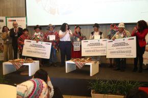 Premio Nacional por la Conservación de la Agrobiodiversidad 2019 se entregó a familias campesinas de Puno, Huancavelica y Cusco.