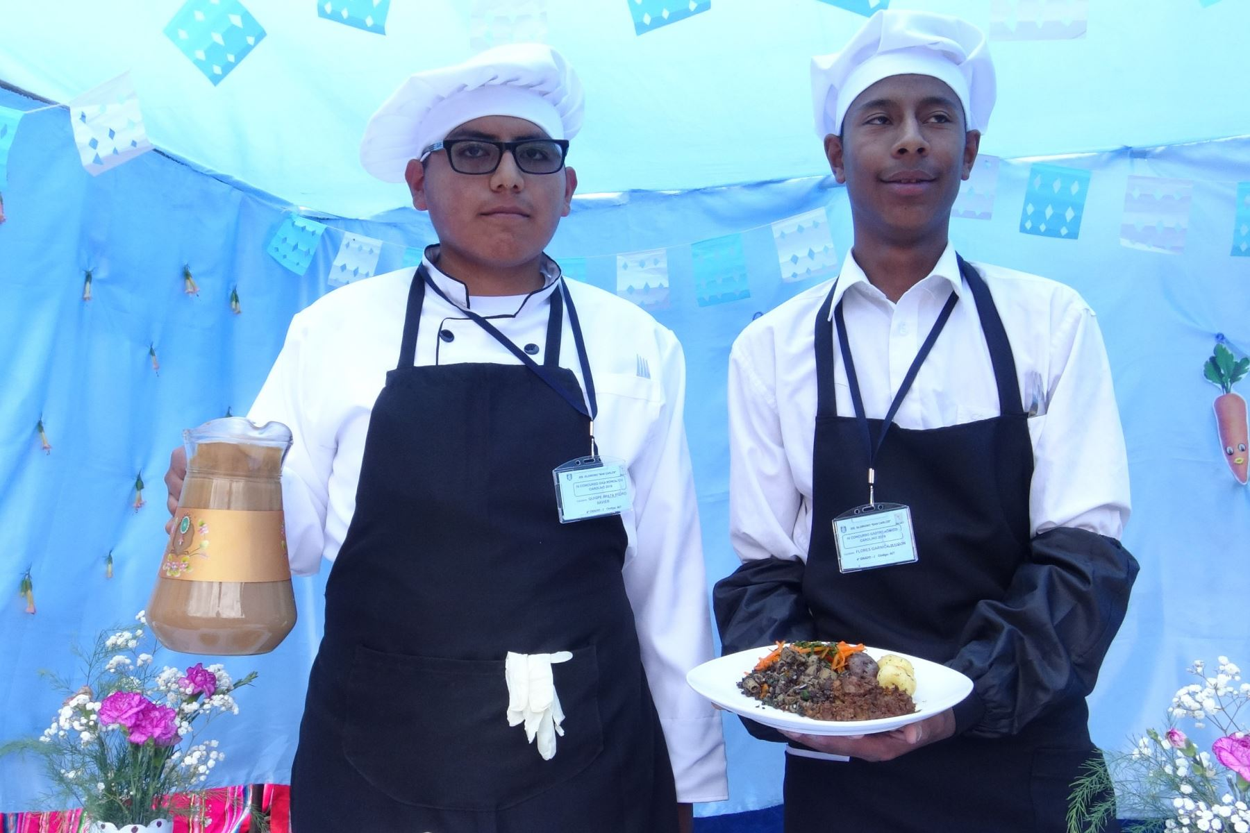 Escolares de Puno crean manjar de hígado de pollo para combatir la anemia infantil. ANDINA