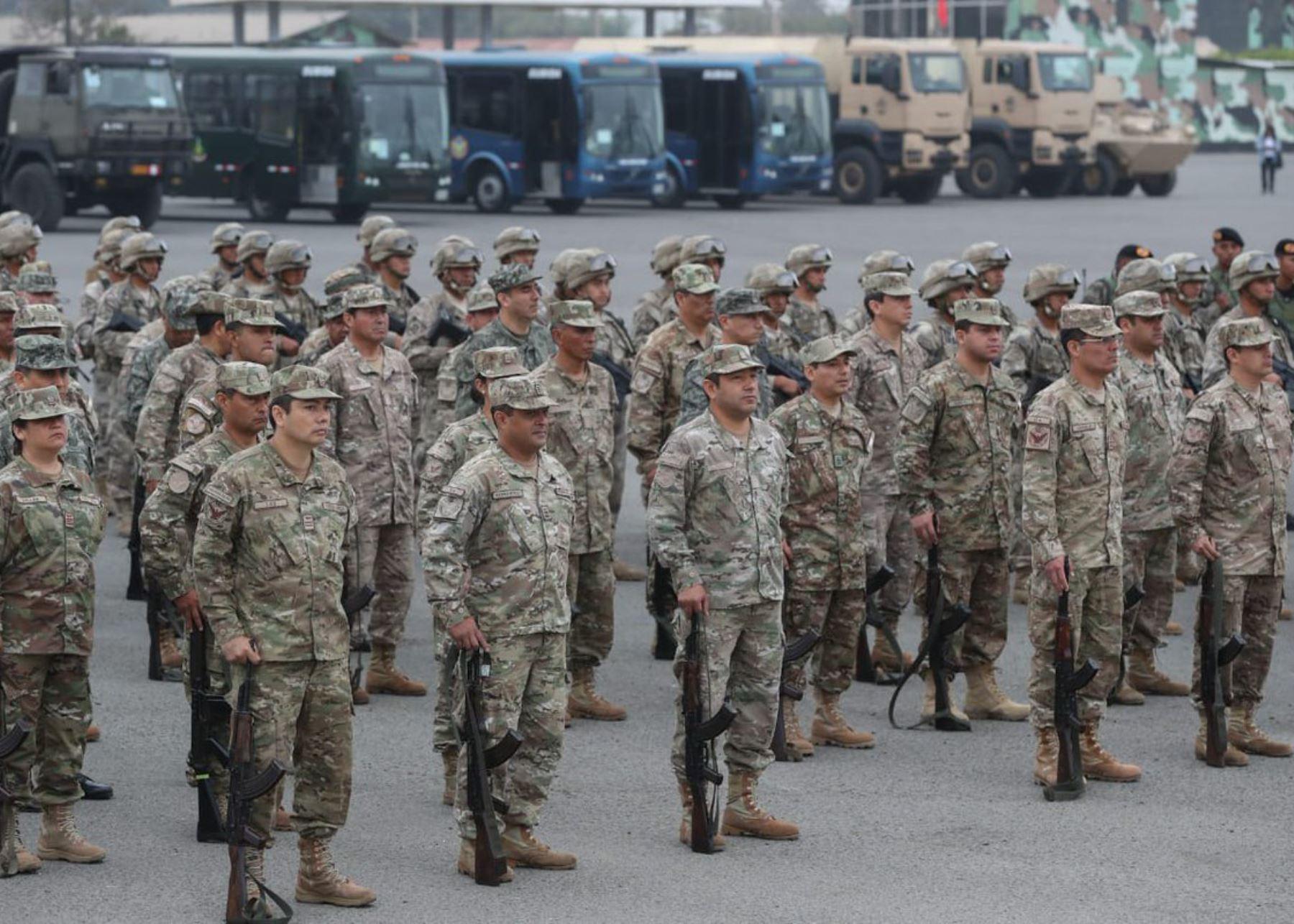 Militares velarán por la seguridad ciudadana durante las elecciones parlamentarias.