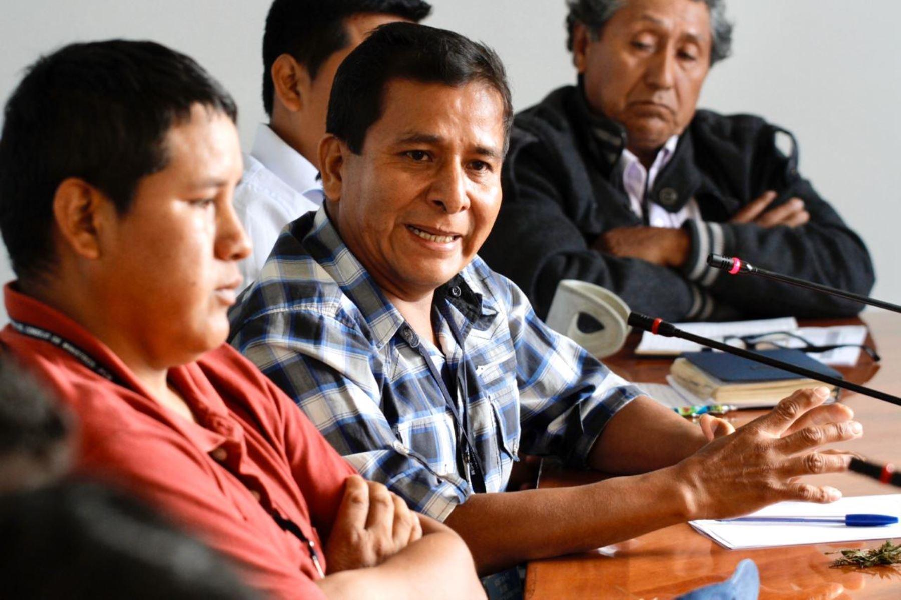 Productores de coca del Vraem ratifican voluntad de diálogo con el Gobierno. ANDINA/Difusión