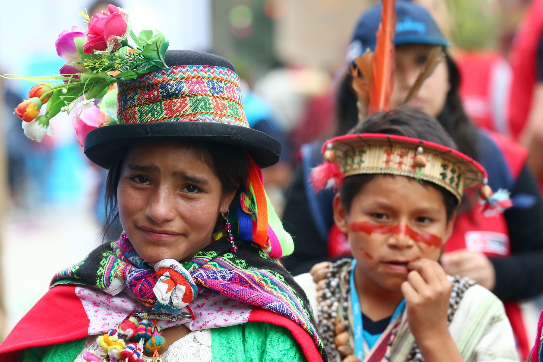 El Ministerio de Cultura sostuvo que la información oficial y actualizada permitirá desarrollar políticas públicas para el desarrollo de los pueblos indígenas. Foto: ANDINA/Melina Mejía