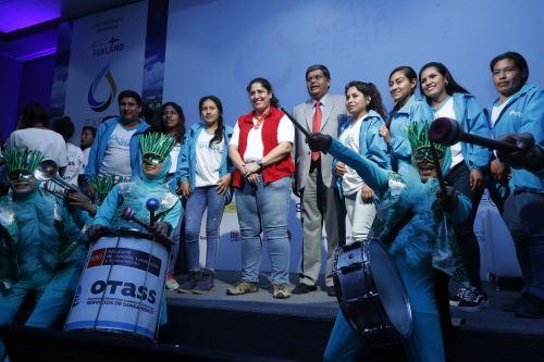 Clausura del Expo Agua Perú 2019