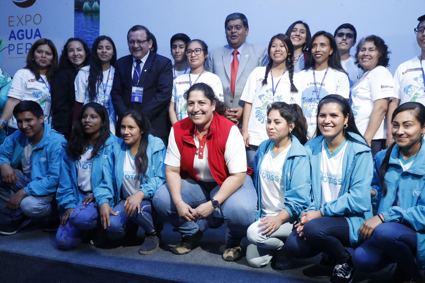 Ministra de Ambiente, Fabiola Muñoz, clausura Expo Agua Perú 2019. Foto: ANDINA/Renato Pajuelo