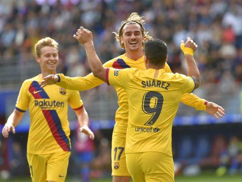 Barcelona ganó 3 a 0 a Eibar por Liga Santander