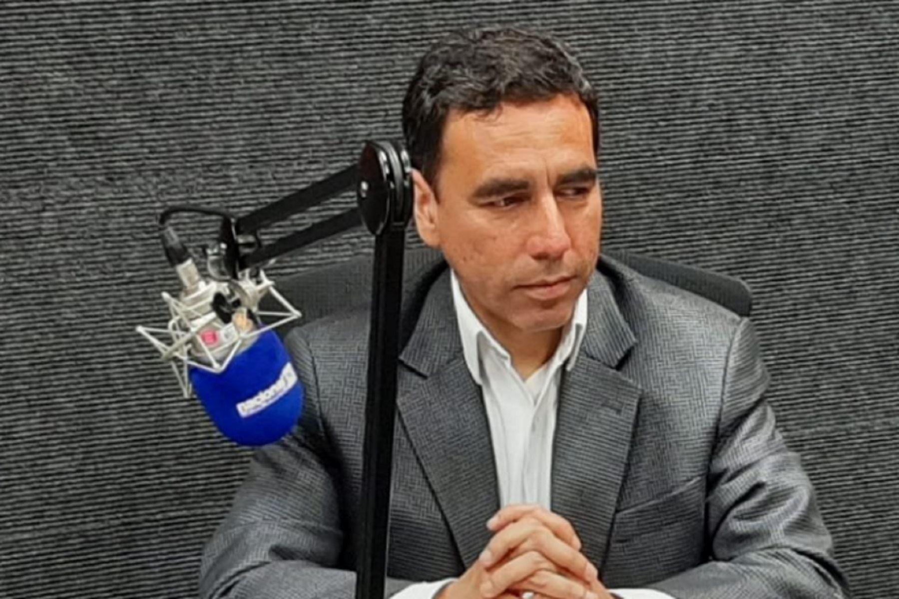 Abogado constitucionalista Omar Cairo. Foto: ANDINA/difusión.