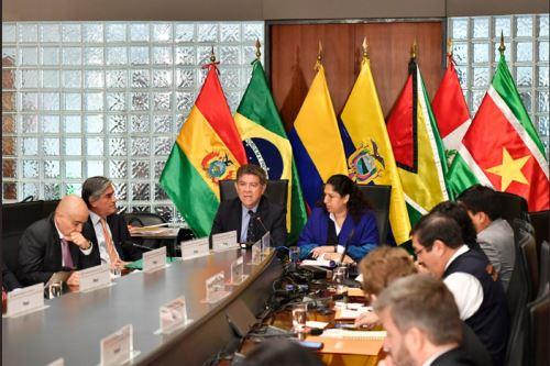 Canciller inauguró primera reunión países firmantes del Pacto de Leticia por Amazonía