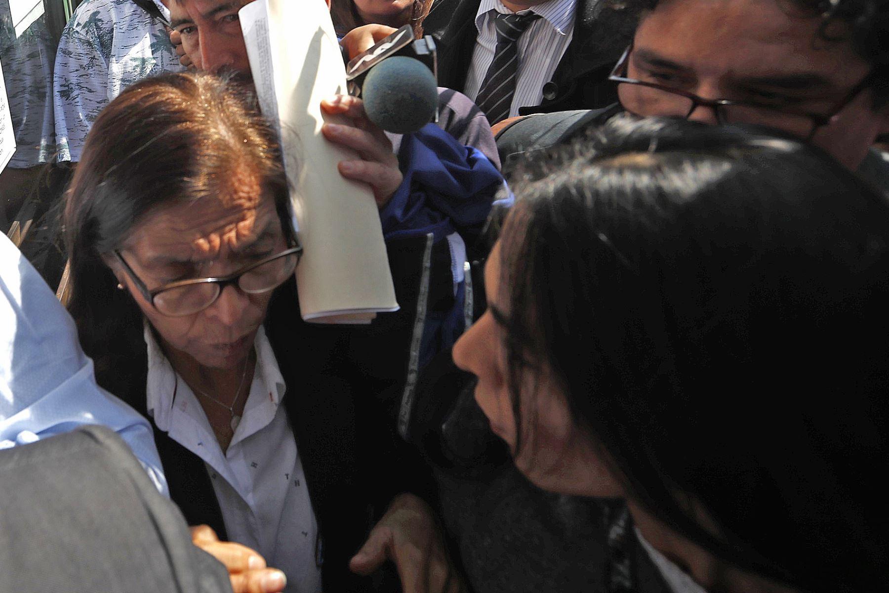 Evalúan pedido de prisión preventiva contra Melisa González Gagliuffi tras accidente en la avenida Javier Prado. Foto: ANDINA/Renato Pajuelo