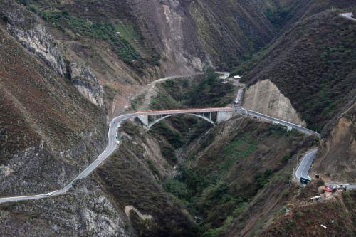 Presidente Vizcarra, Inaugura el puente Tingo, principal vía de acceso a la ciudad de Cajamarca