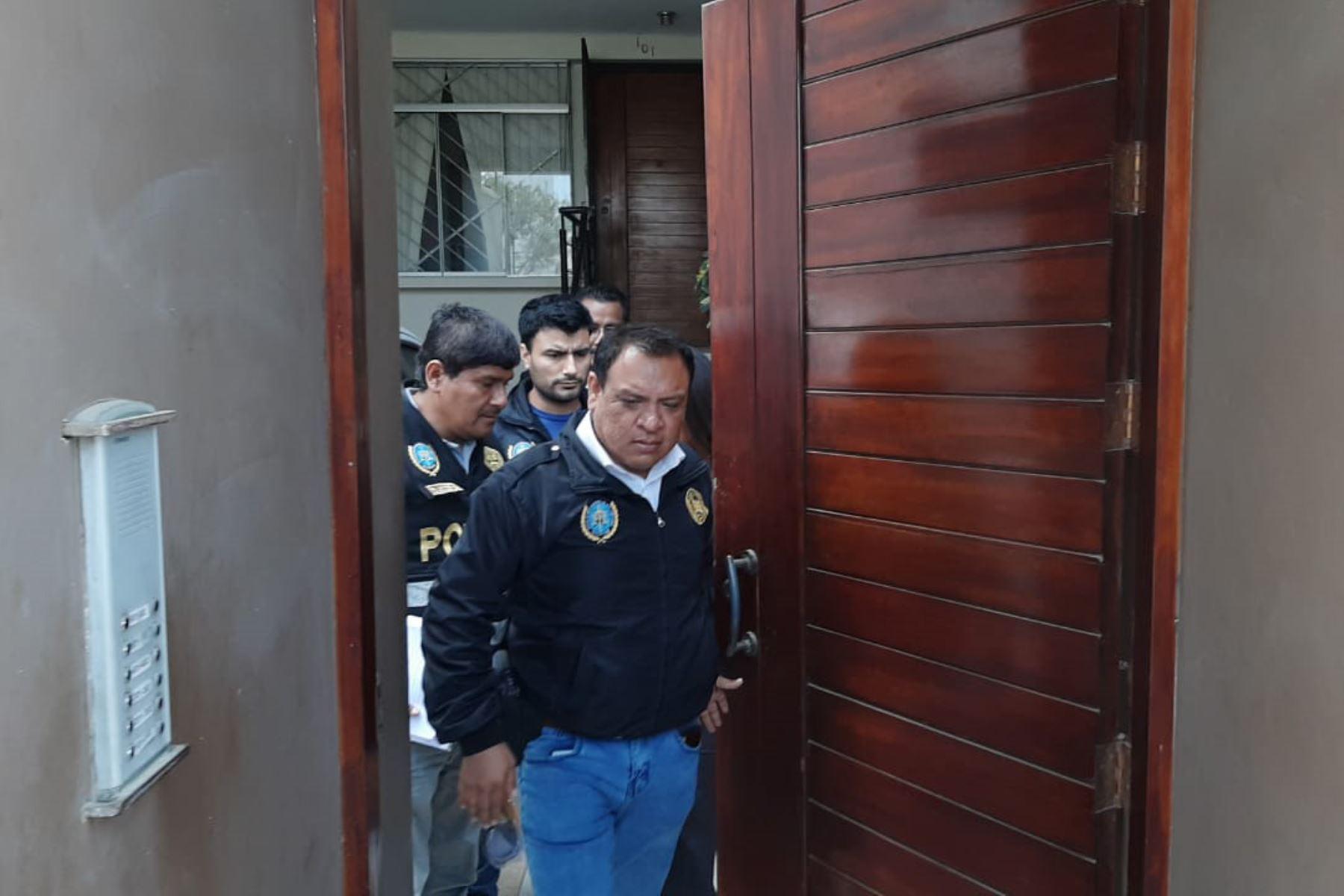 Fiscalía Anticorrupción y la Policía allanaron vivienda de Betsy Matos, exasesora de Luciana León, ubicada en Trujillo. Foto: Luis Puell