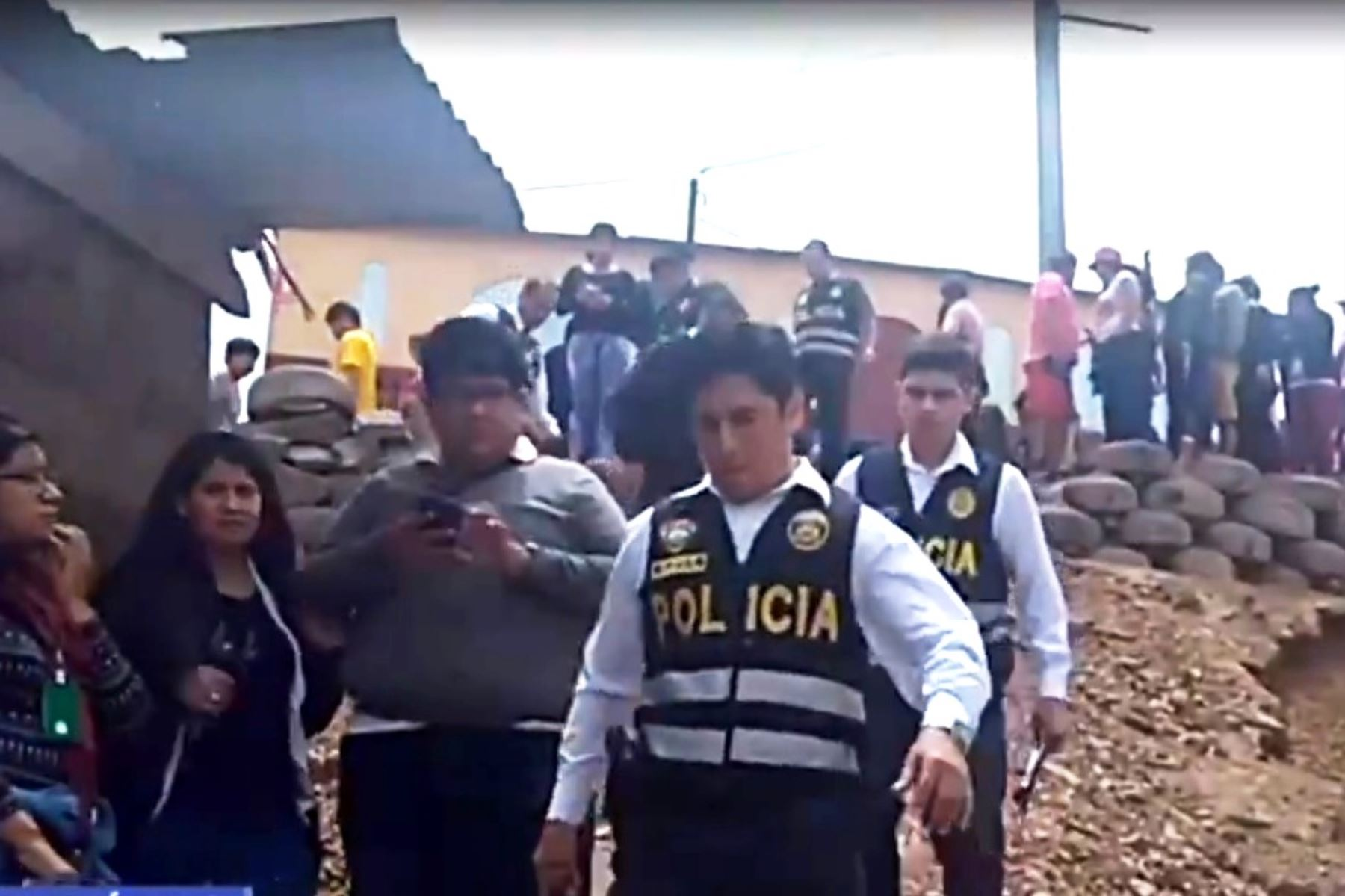 Comas: hallan tres cadáveres en vivienda con impactos de bala. Foto: ANDINA/Difusión.