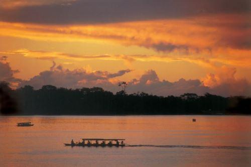 La cautivante laguna de Yarinacocha, uno de los atractivos emblemáticos de la región Ucayali que reanuda sus actividades turísticas. ANDINA/Difusión
