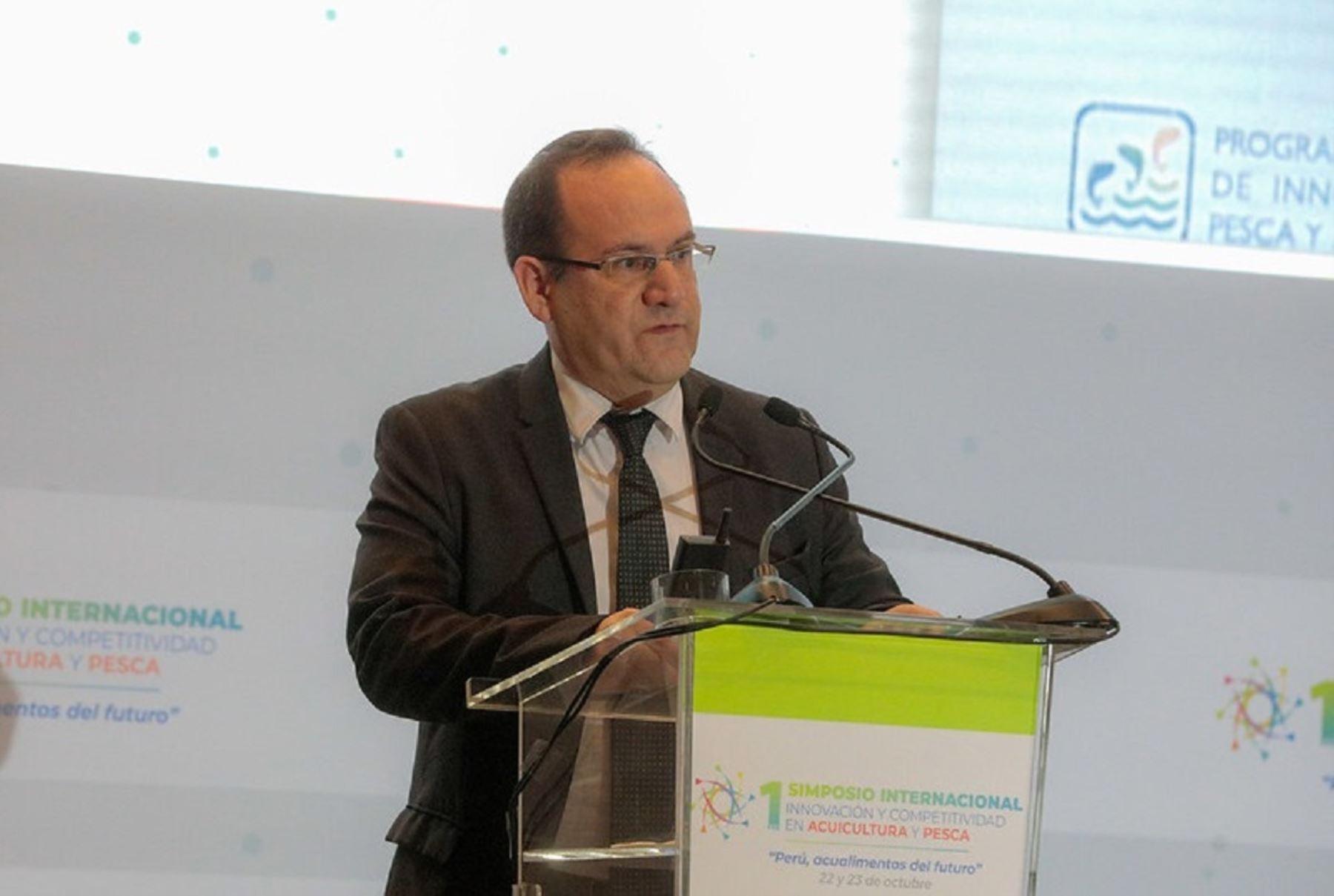 Viceministro de Mype e Industria, José Salardi. Foto: Cortesía.