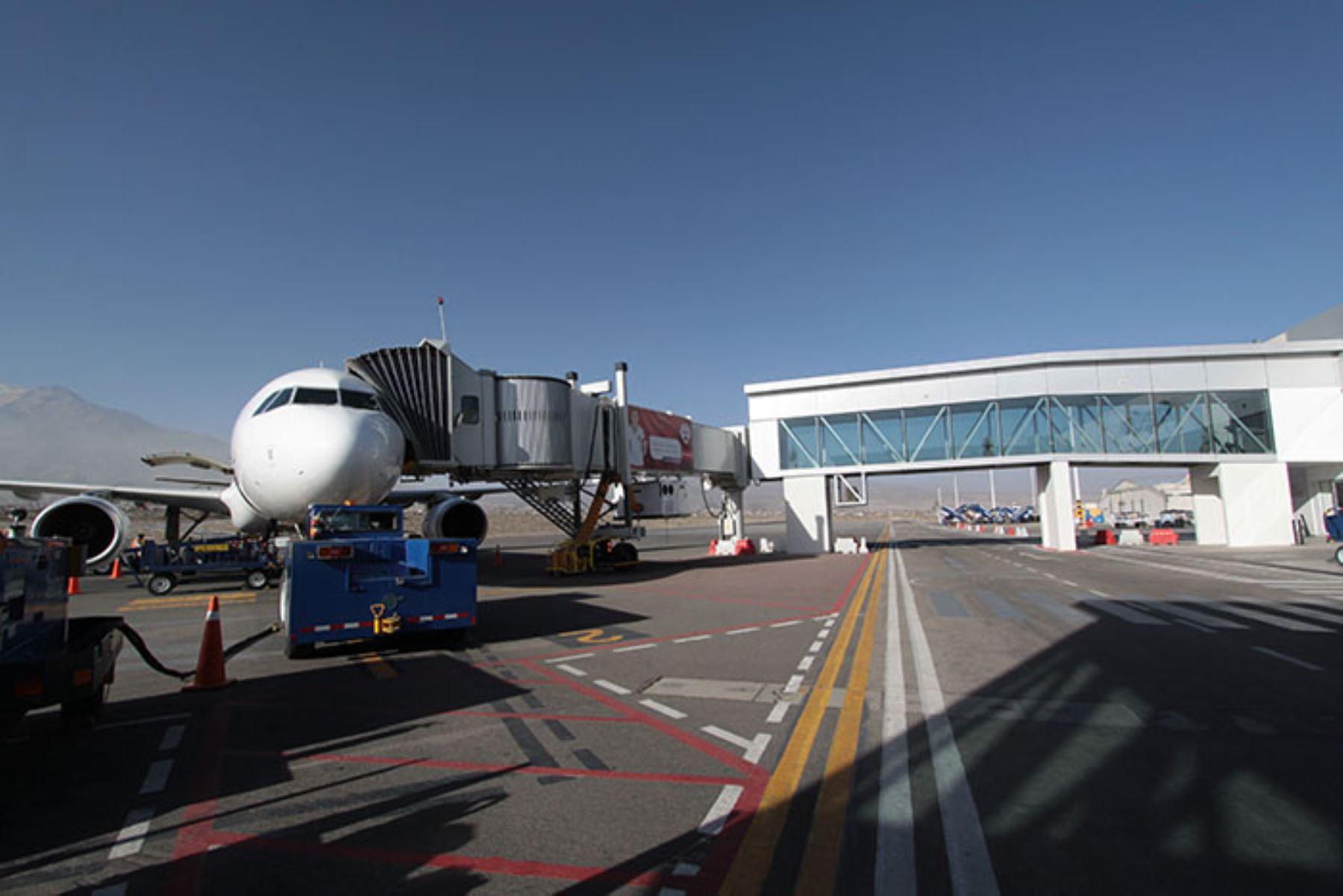 Aeropuerto regional de Arequipa. ANDINA/Difusión