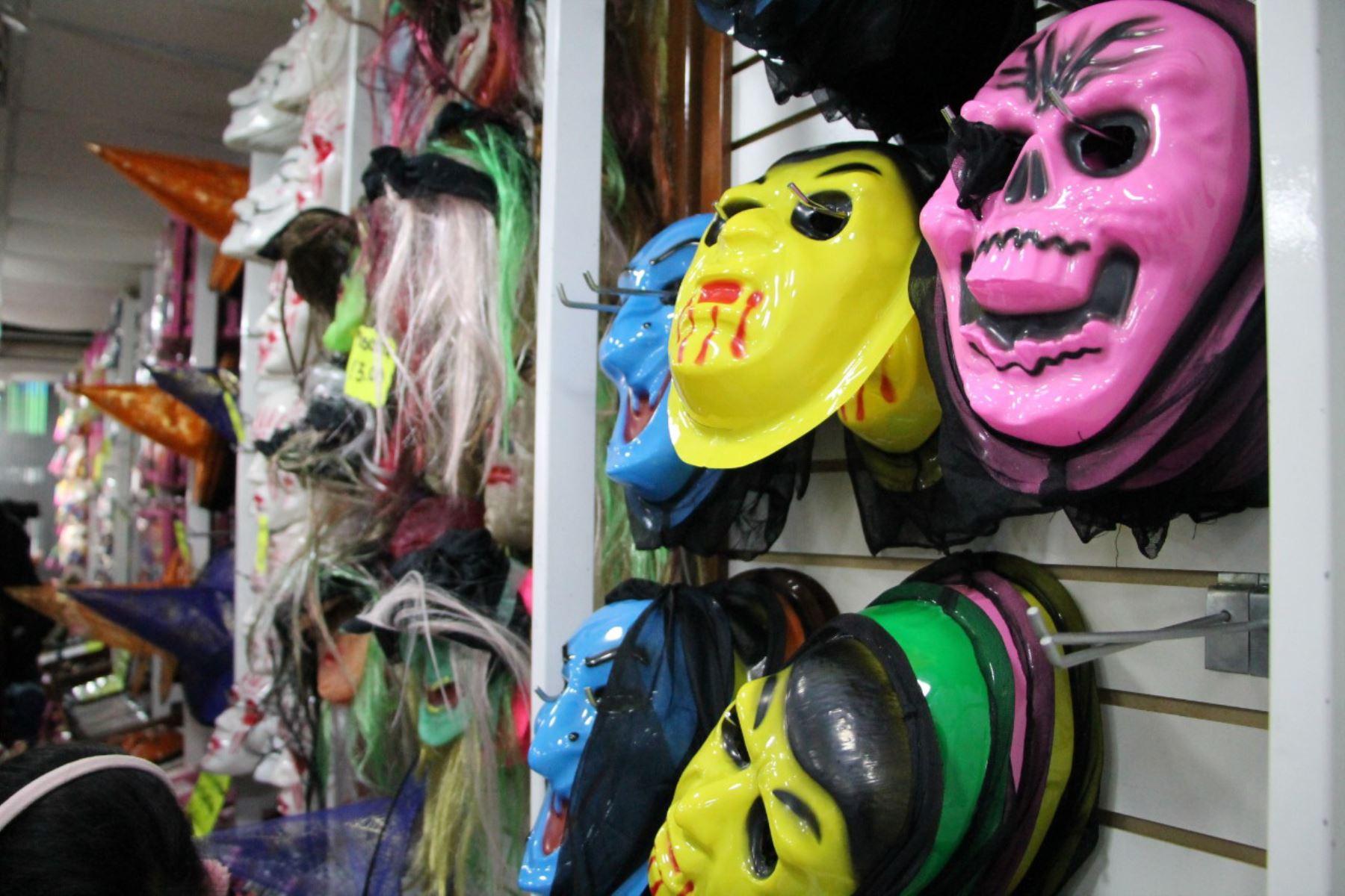 Halloween Incautan Mascaras De Latex Para Ninos Sin Registro