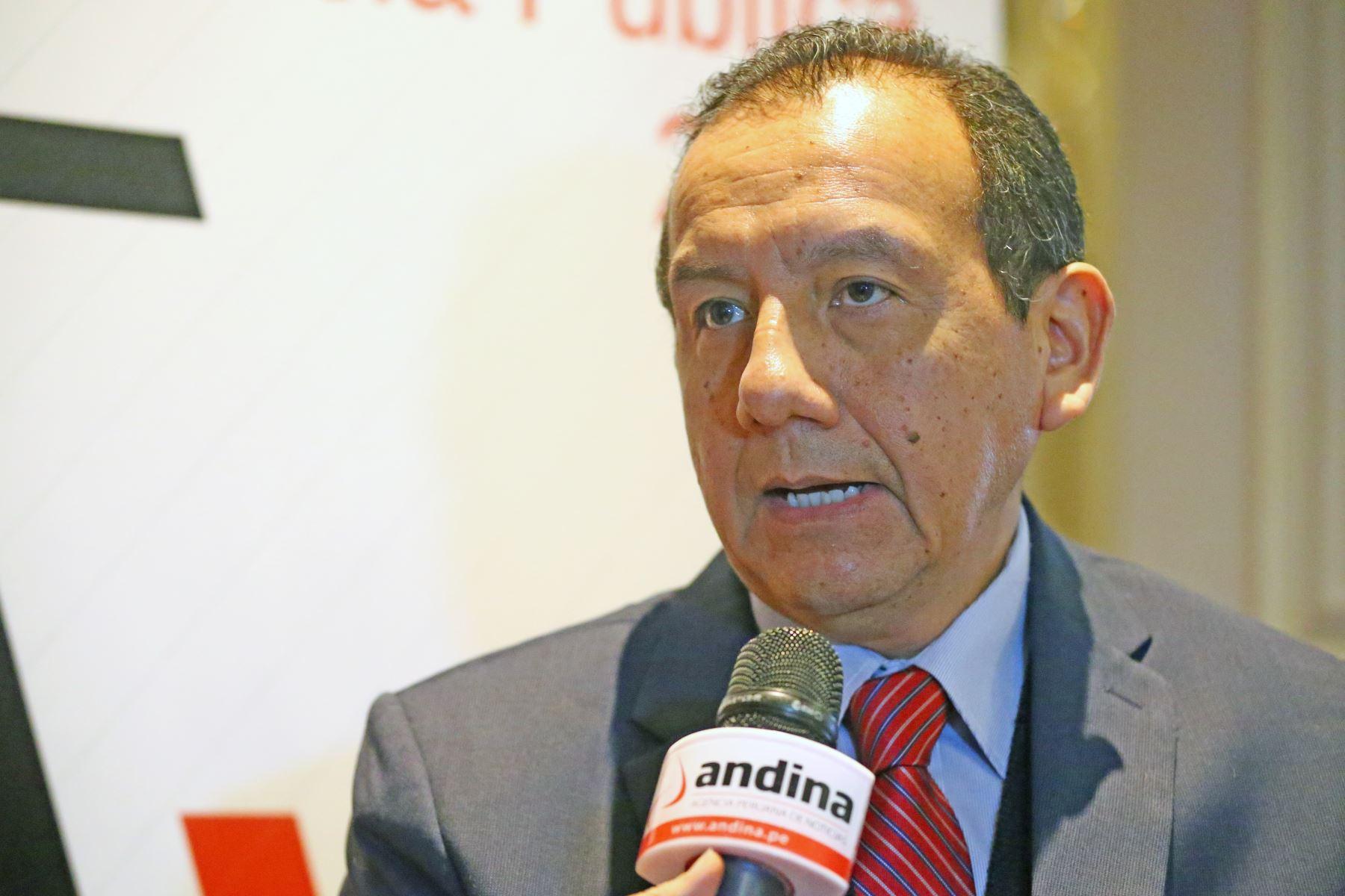 Pedro Alcántara, gerente público de Servir. Foto: ANDINA/Melina Mejía