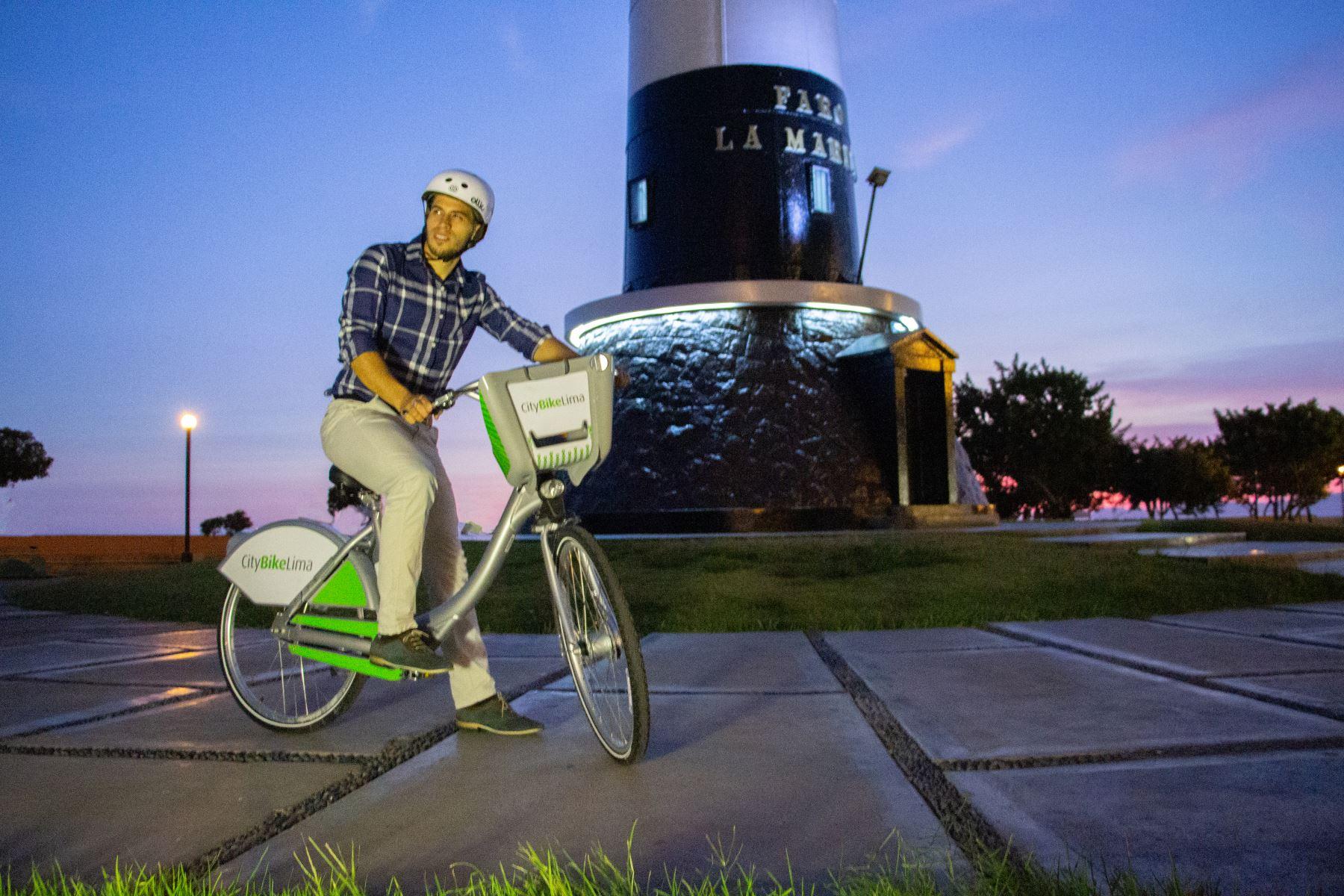 Las ventajas de usar bicileta como transporte supera las espectativas. ANDINA/Difusión