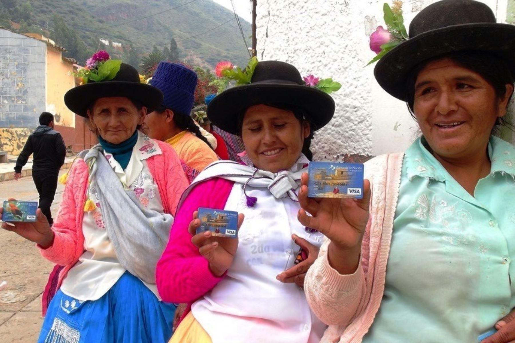 Beneficiarias del programa Juntos. Foto: Cortesía.