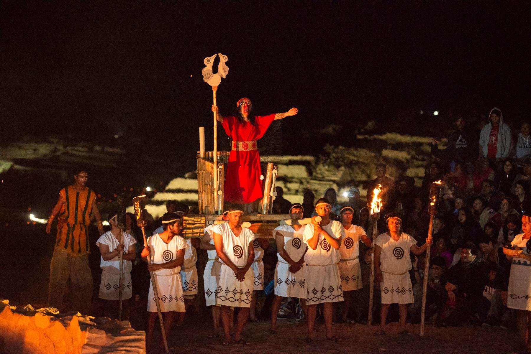 Así celebró Caral los 25 años del inicio de investigaciones en sitio arqueológico. ANDINA/Difusión