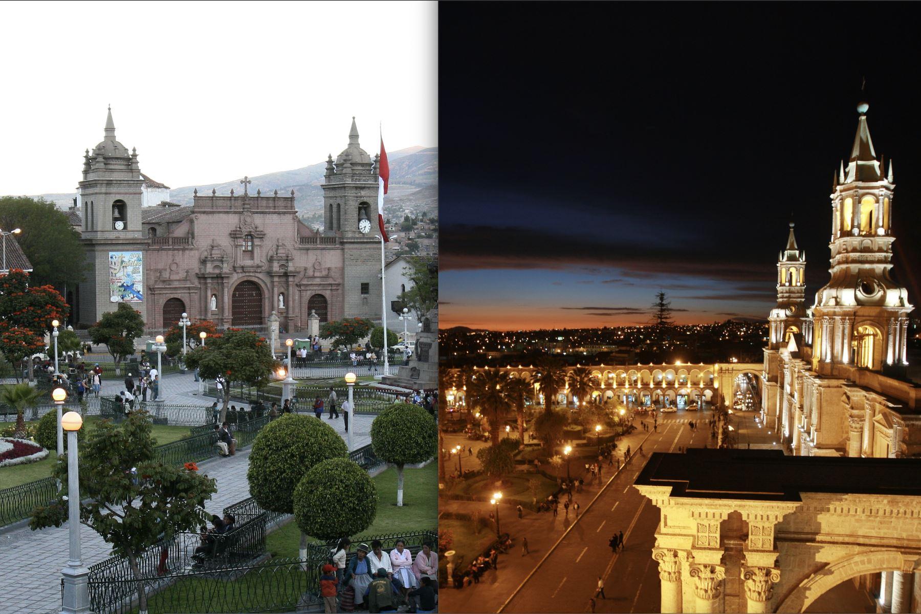 Las ciudades de Ayacucho y Arequipa fueron declaradas Ciudades Creativas por la Unesco. Foto: ANDINA