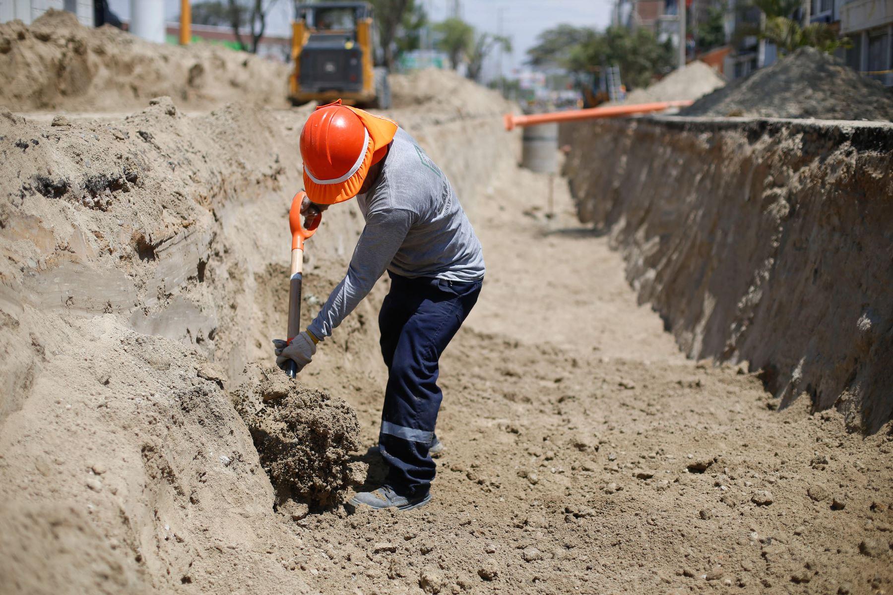 Ministerio de Vivienda renueva redes de agua y alcantarillado en provincias de Lambayeque. ANDINA/Difusión