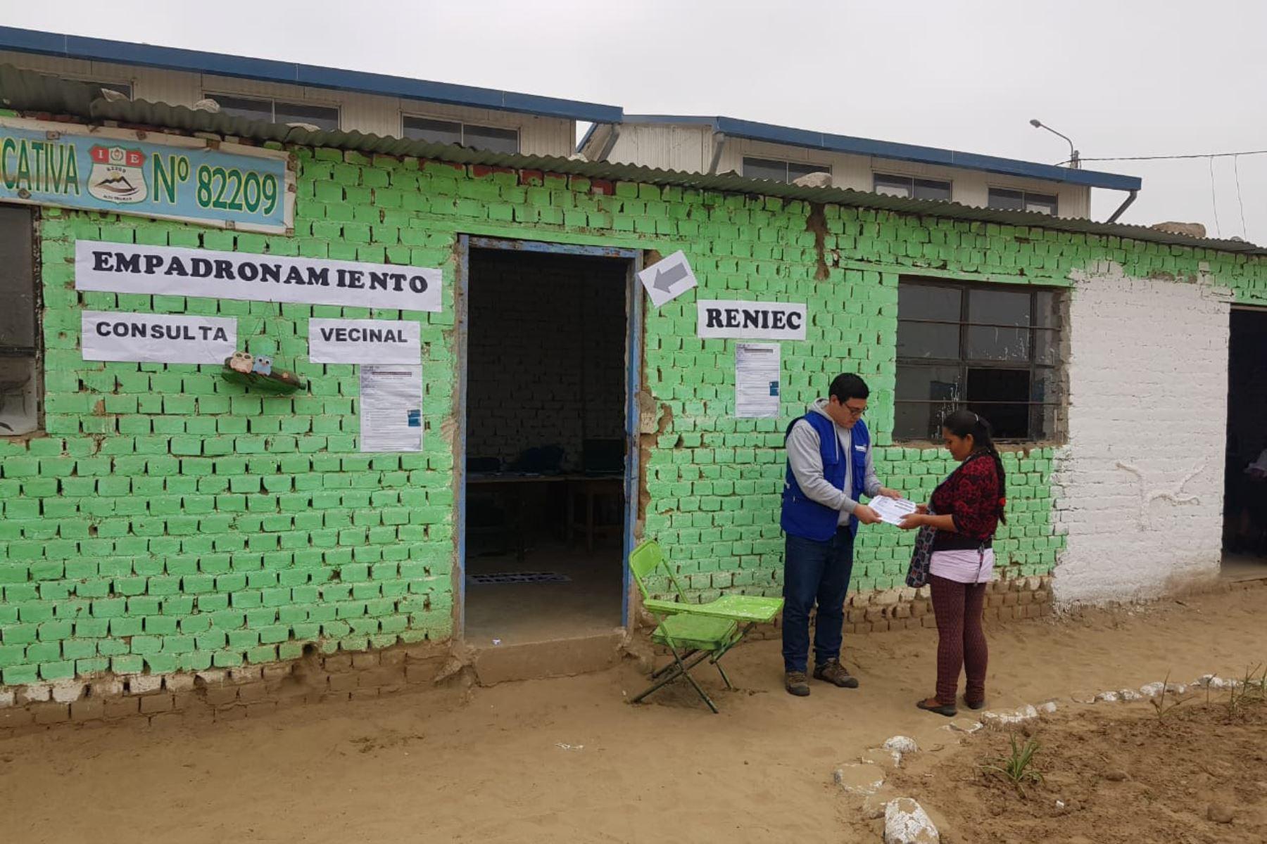 En consulta vecinal sobre creación de Alto Trujillo se podrá votar con DNI caduco.Foto:  ANDINA/Difusión