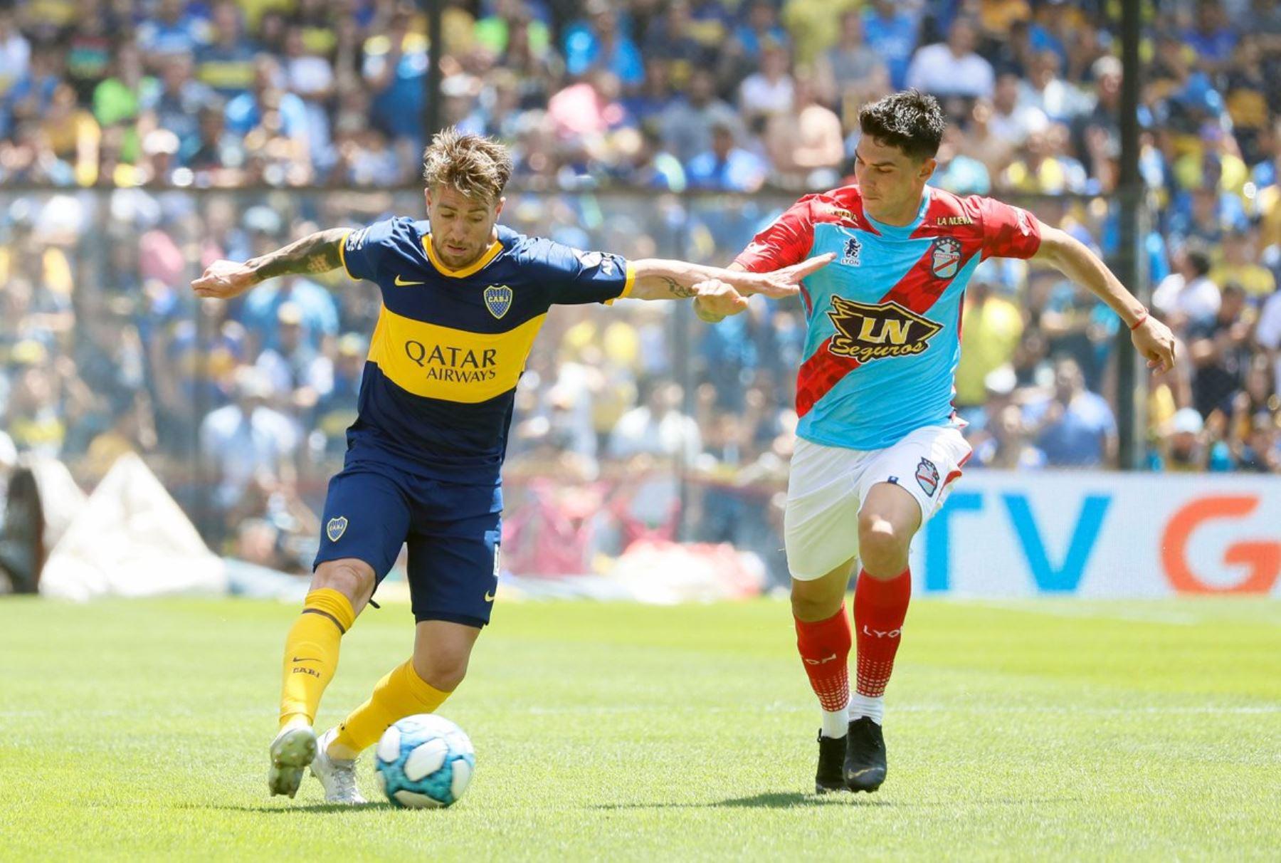 Boca golea a Arsenal y vuelve a la cima en la Superliga argentina |  Noticias | Agencia Peruana de Noticias Andina