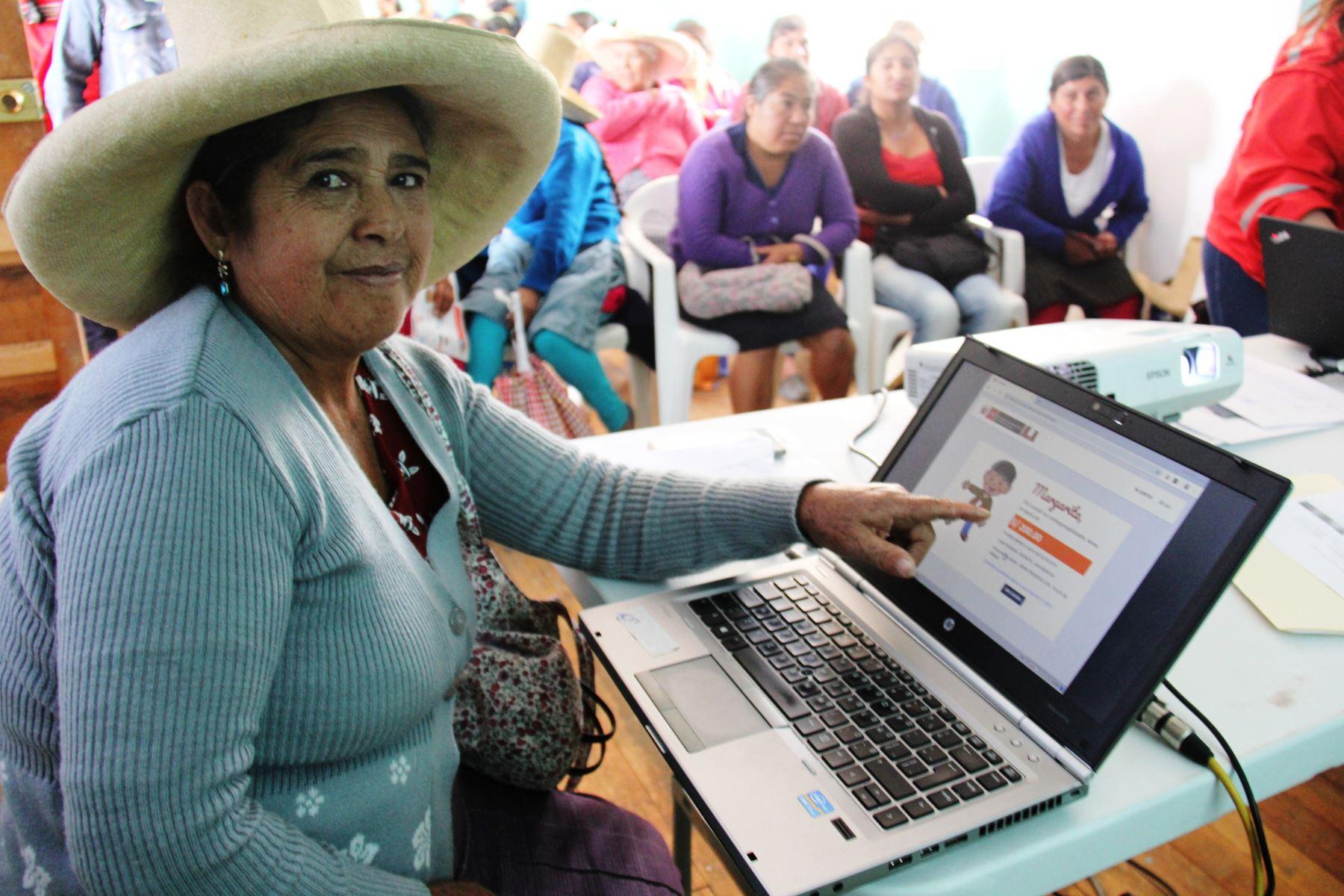 Aplicativo Mi Juntos logra más de 11,000 consultas en la región Cajamarca.