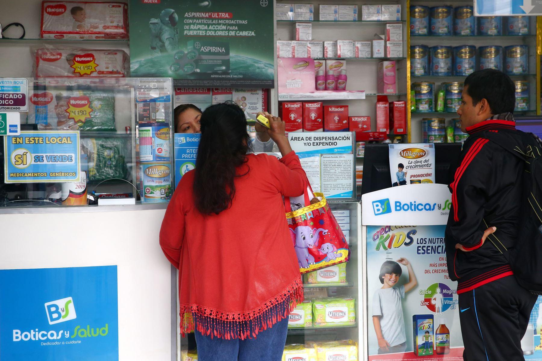 Decreto de Urgencia facilitará que pacientes con problemas de salud mental adquieran medicamentos básicos en farmacias. Foto: ANDINA/Melina Mejía