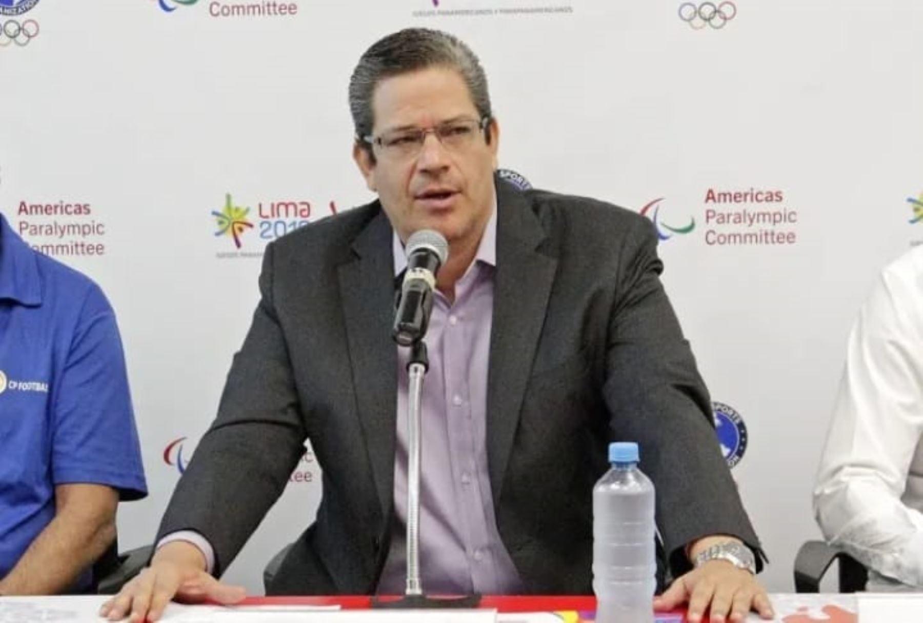 El Poder Ejecutivo designó hoy a Gustavo Adolfo San Martín Castillo presidente del Instituto Peruano del Deporte (IPD). Foto: Lima 2019.