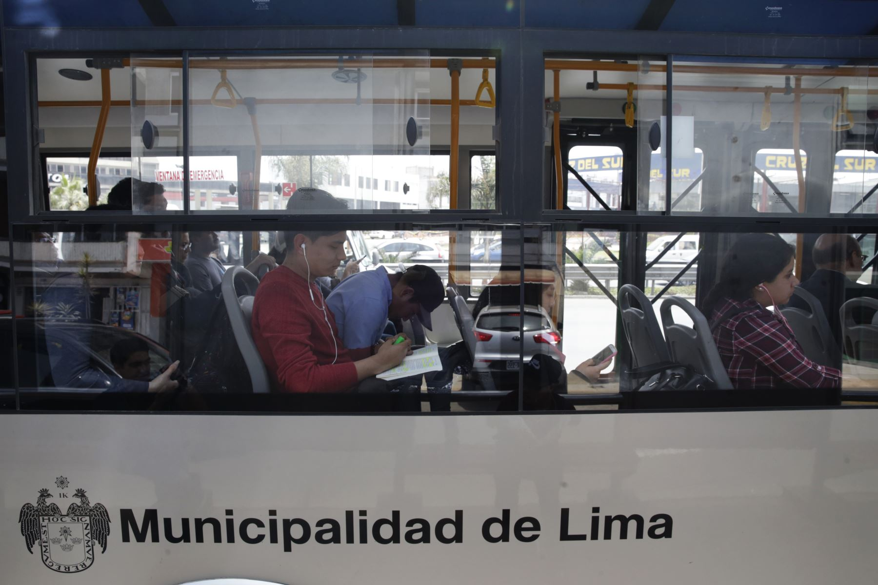 Corredores viales funcionan con normalidad. Foto: ANDINA/Melina Mejía